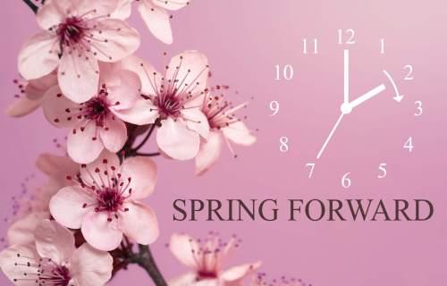 Spring Forward - Daylight saving