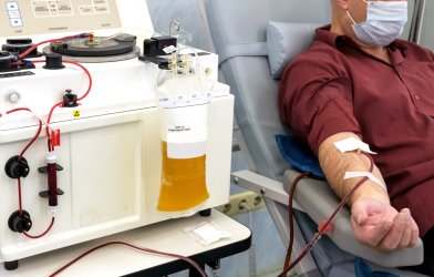 Blood plasma donation for COVID-19 patients