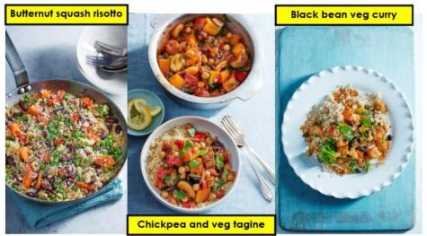 Vegetarian meals to build protein