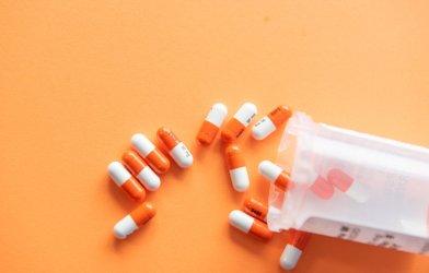 Prescription drug - Vyvanse pills