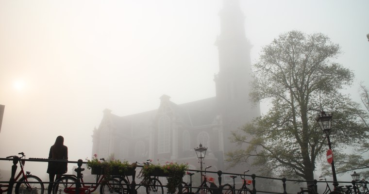 Magical reality: Amsterdam in the mist