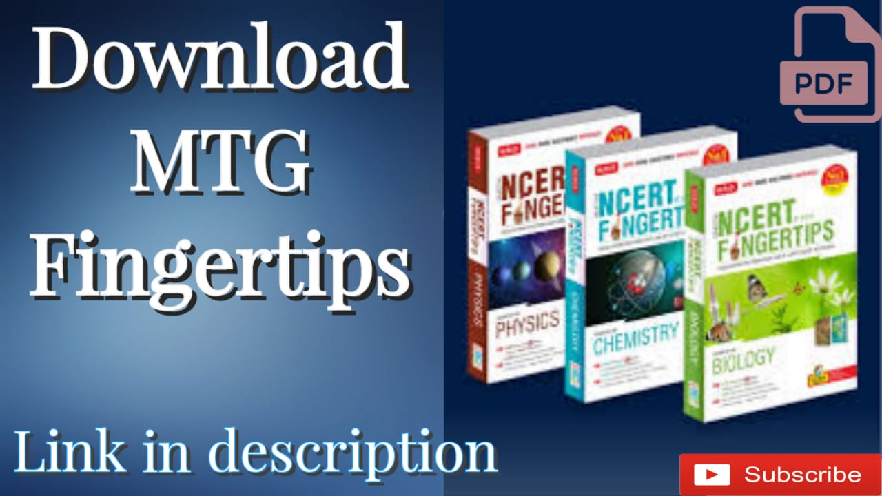 You are currently viewing Download MTG NCERT at Your Fingertips For PCB NEET