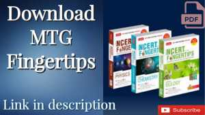 Read more about the article Download MTG NCERT at Your Fingertips For PCB NEET