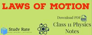 Read more about the article Laws of Motion Notes Class 11 Physics Notes- Download PDF for JEE/NEET