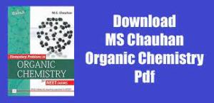 Read more about the article Organic Chemistry MS Chauhan PDF Download for JEE & NEET for FREE