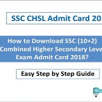 SSC CHSL Admit Card 2018 Download - All Region (SSC 10+2 Tier I, II)