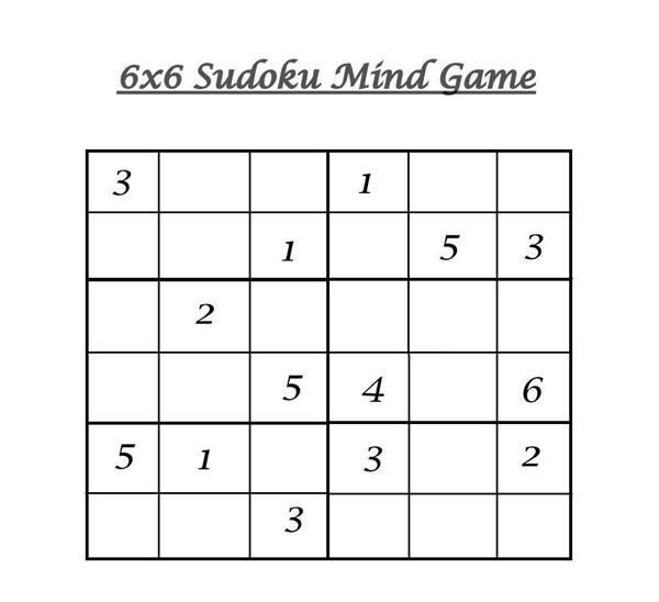 Medium Level Sudoku Work Sheets For Kid