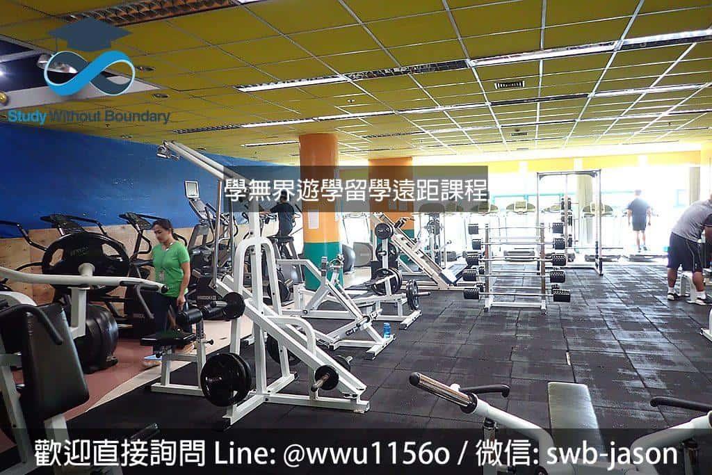 菲律賓碧瑤PIA語言學校設備完整的健身房