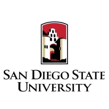 SDSU san diego state university logo