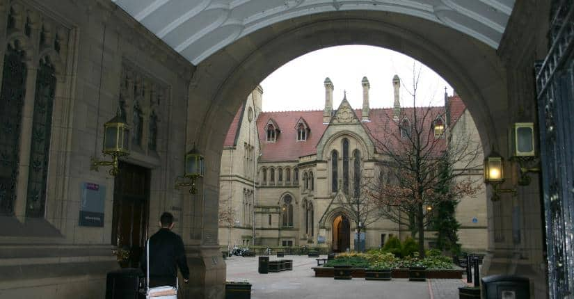 University of Manchester 曼徹斯特大學