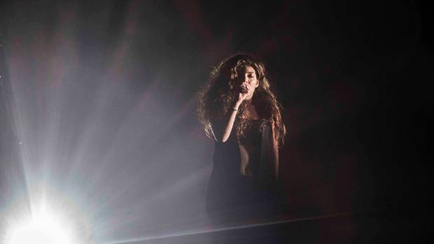 Lorde at Auckland's Vector Arena.