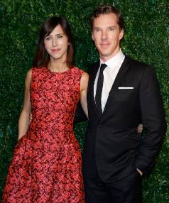 Sophie Hunter and Benedict Cumberbatch.