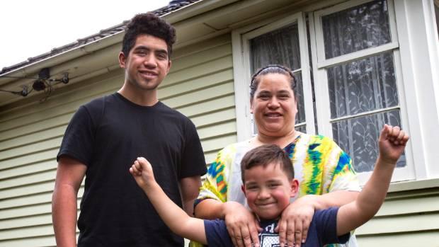 BIG DREAMS: Seth Keepa-Tauamiti with his mum Angeleen Keepa and little brother Noah.