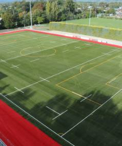 Usage of Trust House Memorial Park in Masterton is expected to increase eight fold with the new artificial playing turf.