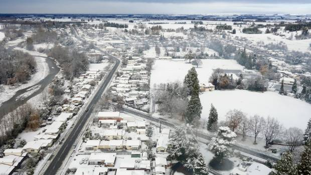 Embrace the cold: New Zealand records lowest maximum temperatures in decades.