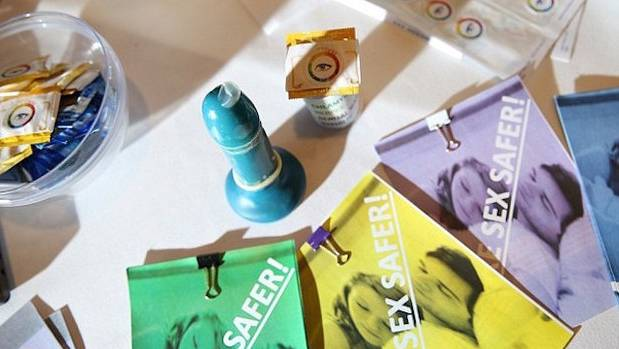 The teens' invention glows in different colours when it detects a STI.