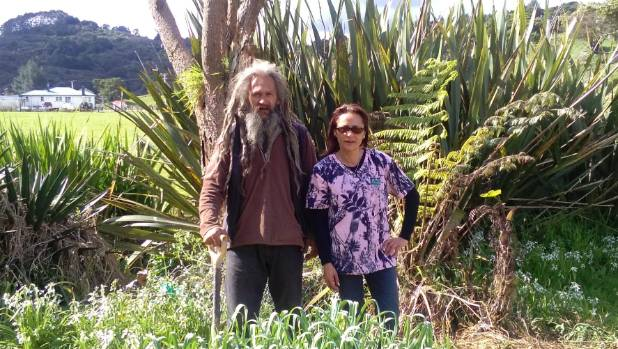 Brother and sister Joe Thompson and Jackie Thompson are encouraging people to grow their own food and be self-sufficient.