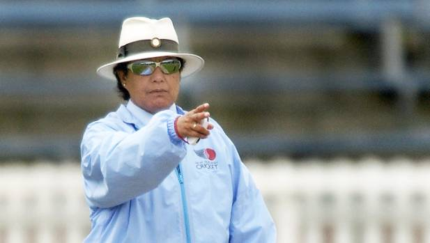 Kathy Cross made cricketing history when she became the first female to officiate in the ICC World Twenty20 last week..