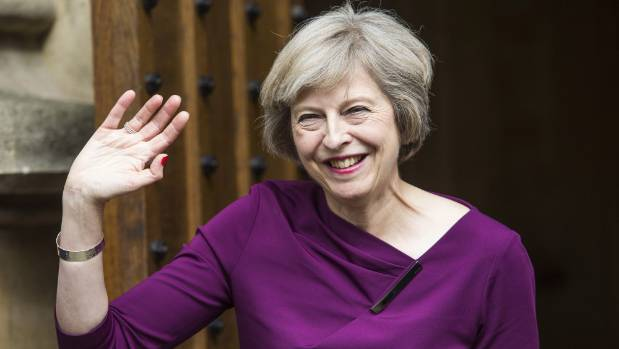 Theresa May is Britian's new Prime Minister.
