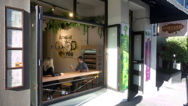The Pressed Raw Juice Bar was a juicy pop-up store in central Auckland.