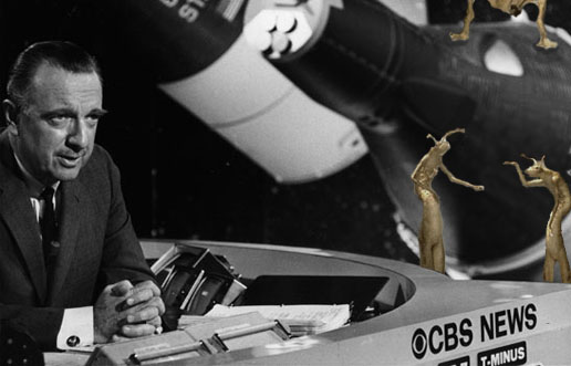Walter Cronkite welcomes new life forms to Earth. July 27, 1962