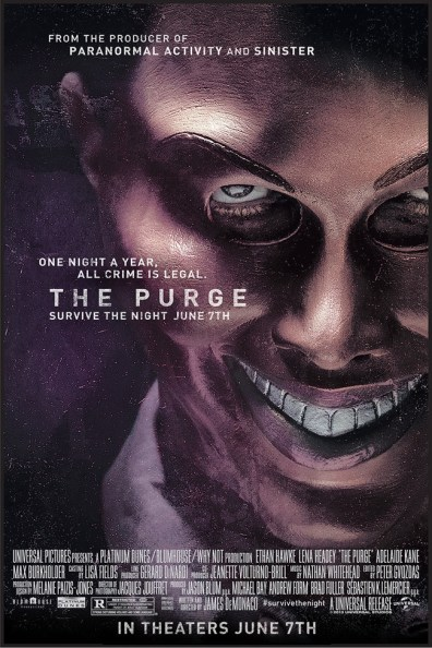 """Dammit, Carl!: An SML Review of """"The Purge"""""""