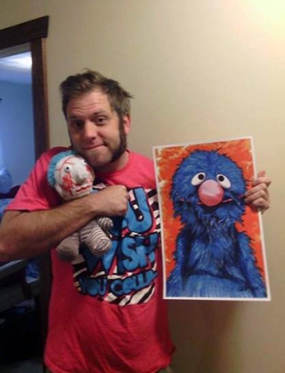 Matthew Ensley, Hug A Monster Day 2014
