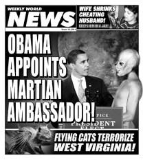 Weekly World News-Obama