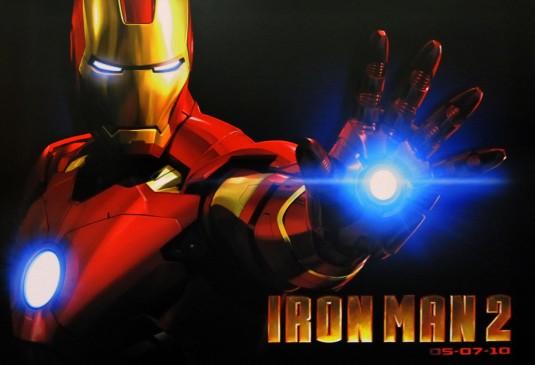 Iron Man 2 DVD Giveaway