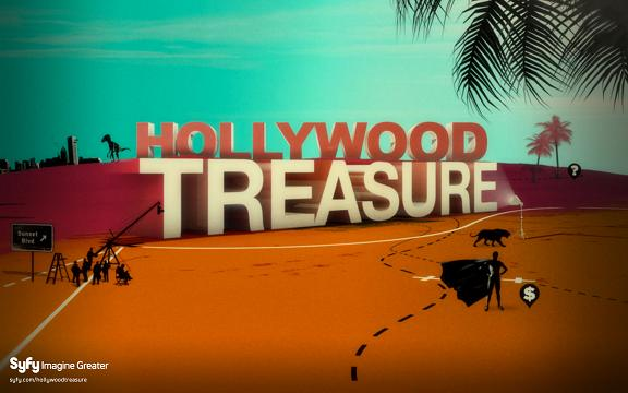 Syfy Digtal Press Tour 2010: Hollywood Treasure
