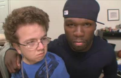 Keenan Cahill meet 50 Cent