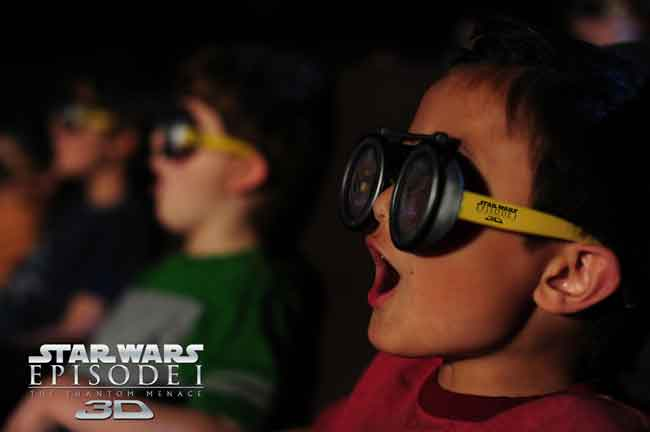 Star Wars The Phantom Menace 3D AMC Special Event