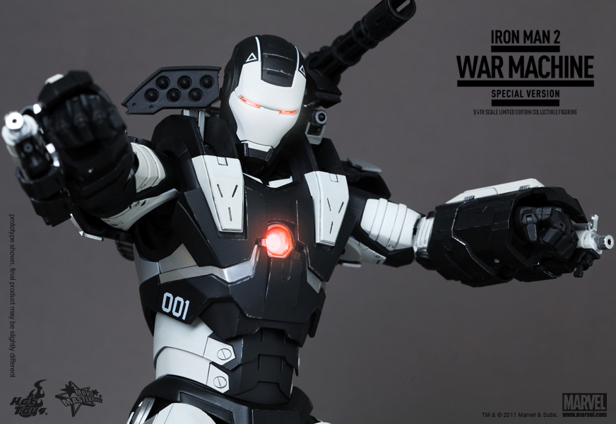 Hot Toys 1:6 Scale War Machine Special Edition Review