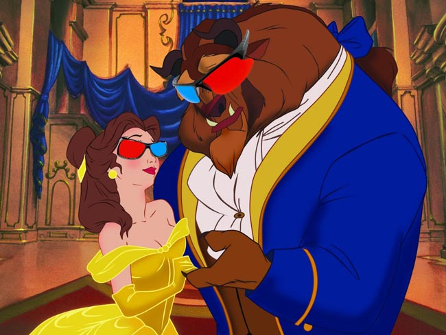Beauty and the Beast 3D Review