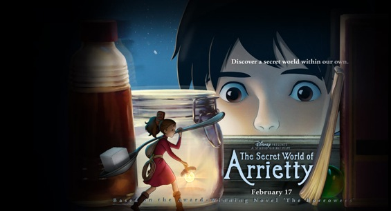 'The Secret World of Arrietty' Review!