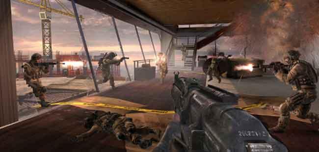 Modern Warfare 3 Overwatch Walkthrough