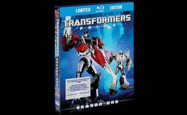 Transformers Prime First Season Limited Edition Bluray Review