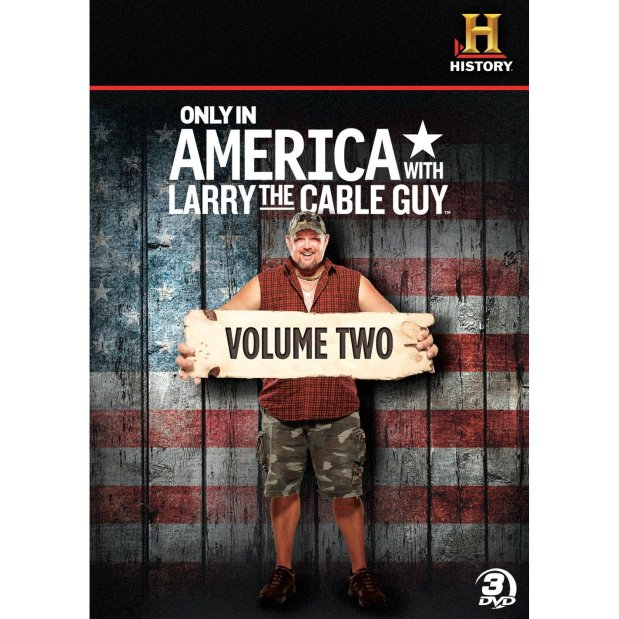 Only in America with Larry the Cable Guy: Volume Two – DVD Review