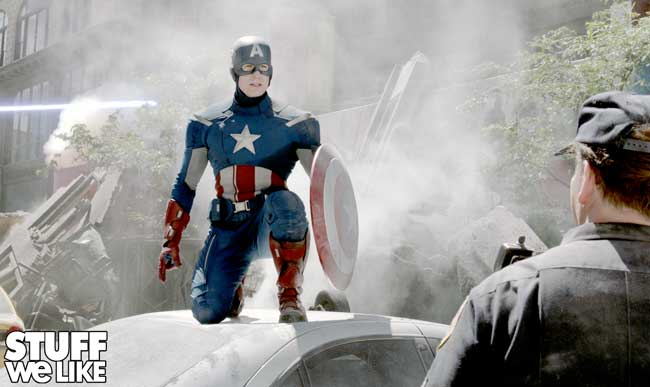 The Avengers Captain America