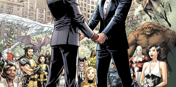 Marvel Comic's First Gay Wedding (SPOILERS)