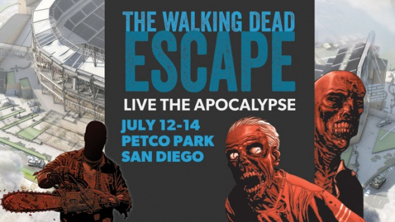 """Experience """"The Walking Dead – Escape: San Diego"""" At Comic-Con"""