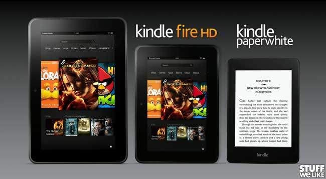 Amazon Kindle Press Conference