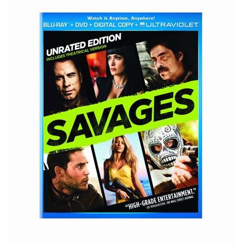 Sponsored Video: Savages on Blu-ray and DVD 11/13/2012!