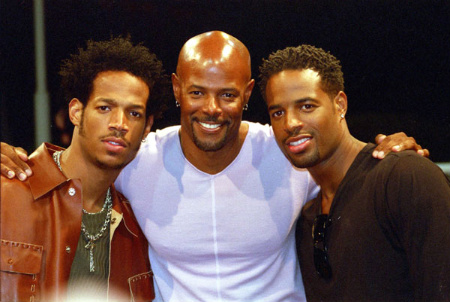 The Wayans Brothers: Marlon, Keenan, and Shawn