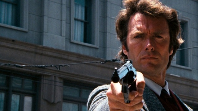 Clint Eastwood as Dirty Harry