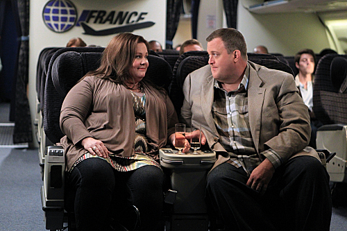 Melissa McCarthy and Billy Gardell
