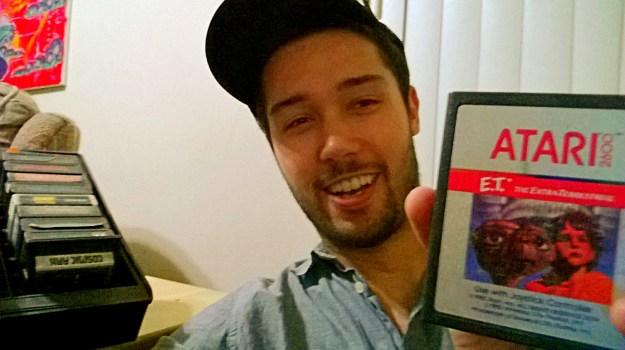 David Rodriguez ET Atari 2600