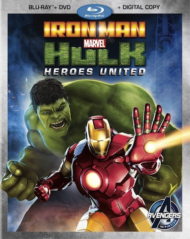Blu-ray Review – Iron Man and Hulk: Heroes United