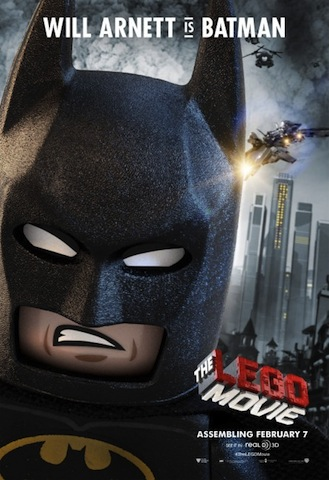 Will Arnett as Batman in The Lego Movie