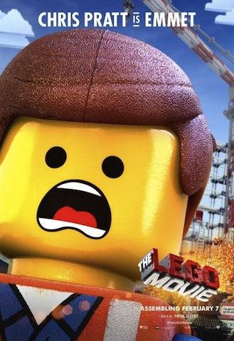 Chris Pratt as Emmett in The Lego Movie